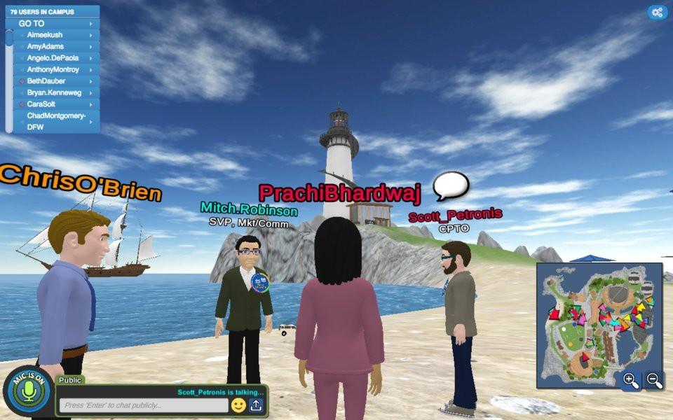 Không có văn phòng, công ty Mỹ cho nhân viên làm việc trên một hòn đảo ảo - ảnh 8