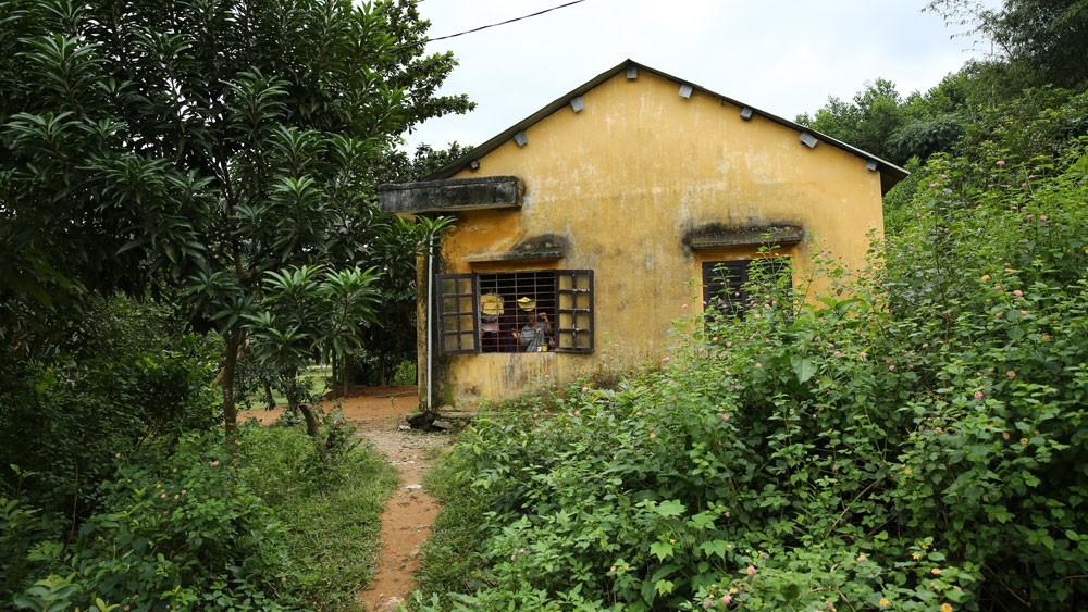 Dự án Kiên cố hóa trường lớp học mầm non, tiểu học huyện Phước Sơn (giai đoạn 2017 - 2020) có sử dụng nguồn vốn trái phiếu chính phủ. Ảnh minh họa: Thùy Anh