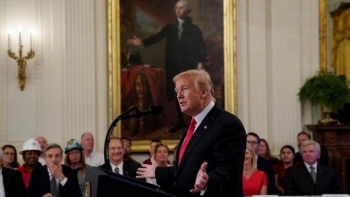 Tổng thống Mỹ Donald Trump - Ảnh: Reuters.