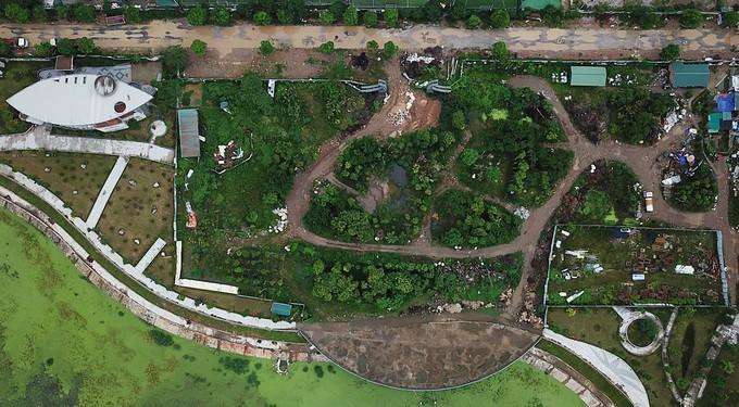 Công viên trăm tỷ ở Hà Nội chậm đưa vào sử dụng - ảnh 4