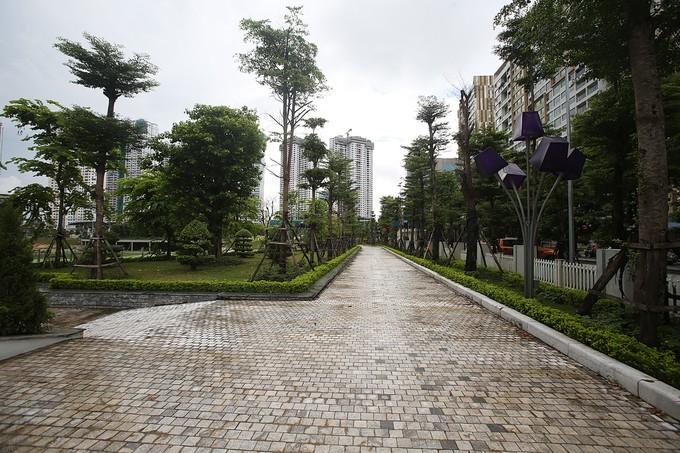 Công viên trăm tỷ ở Hà Nội chậm đưa vào sử dụng - ảnh 5