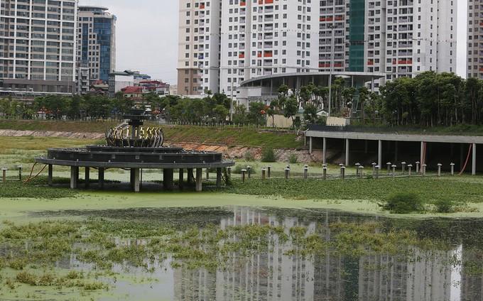 Công viên trăm tỷ ở Hà Nội chậm đưa vào sử dụng - ảnh 7