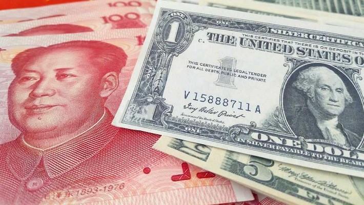 Đồng Nhân dân tệ của Trung Quốc ngày 20/7 trượt xuống dưới ngưỡng 6,8 Nhân dân tệ đổi 1 USD lần đầu tiên trong 1 năm.