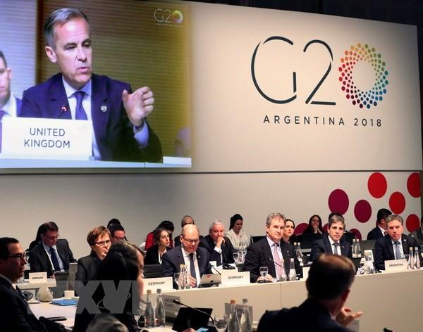 Toàn cảnh Hội nghị Bộ trưởng Tài chính và Thống đốc Ngân hàng Trung ương G20 tại Buenos Aires, Argentina ngày 22/7. (Nguồn: EPA/TTXVN)