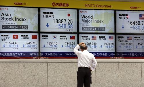 Các TTCK châu Á giảm điểm trong phiên đầu tuần. Ảnh: Reuters