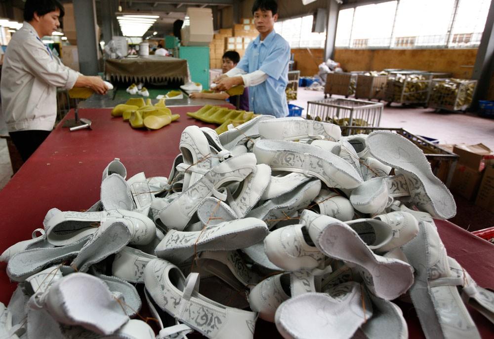 Hiệp hội Da - Giày - Túi xách kỳ vọng, tổng kim ngạch xuất khẩu sản phẩm da giày năm 2018 đạt 19 - 19,5 tỷ USD, tăng 10% so với năm 2017. Ảnh: Thanh Thủy
