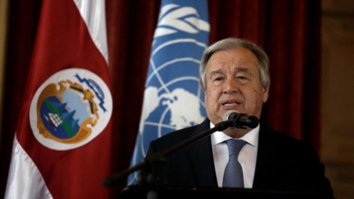 Tổng thư ký Liên hiệp quốc Antonio Guterres - Ảnh: Reuters.