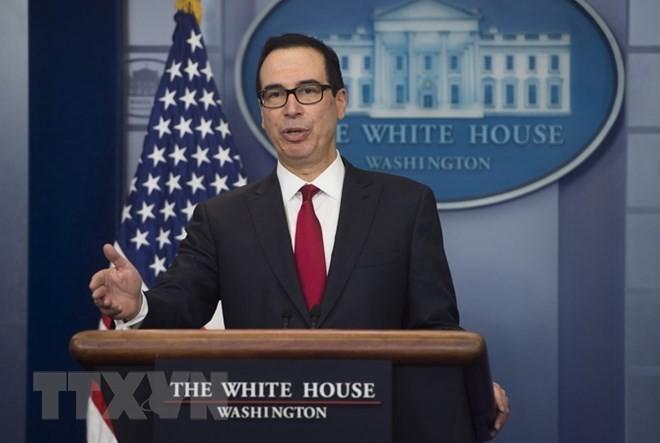 Bộ trưởng Tài chính Mỹ Steven Mnuchin. (Nguồn: AFP/TTXVN)