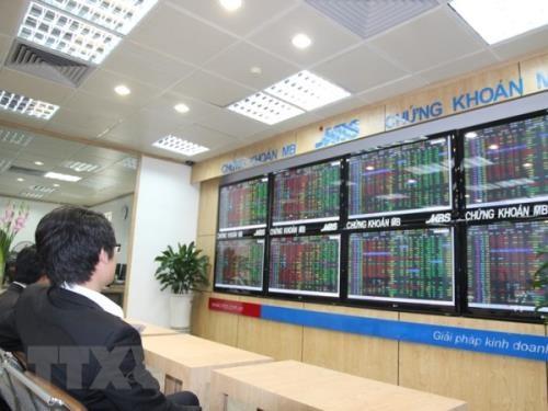 """Chứng khoán ngày 31/7: Dòng tiền """"khỏe"""" giúp VN – Index tăng điểm. Ảnh: TTXVN"""