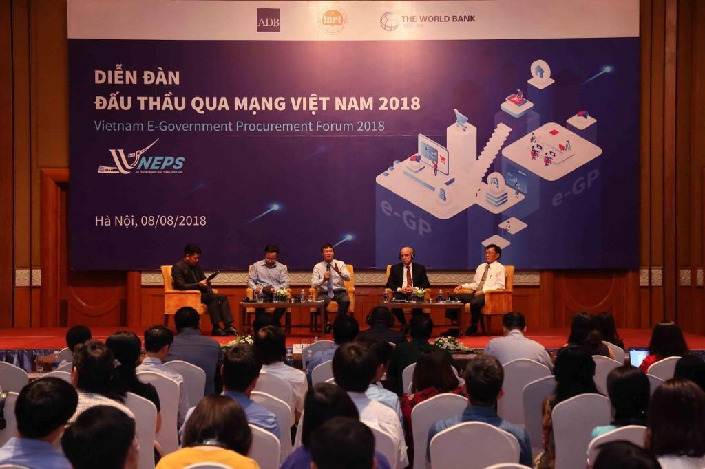 Khai mạc Diễn đàn Đấu thầu qua mạng Việt Nam 2018 - ảnh 19