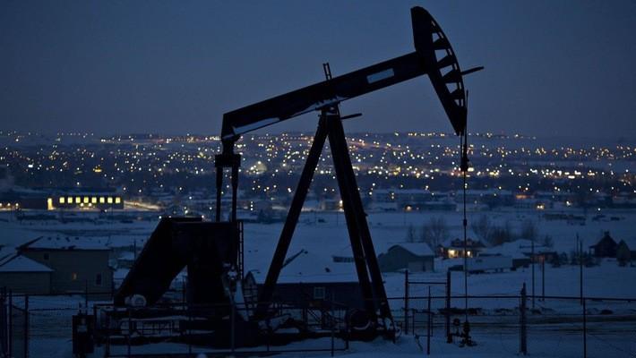 Một giếng dầu ỏ North Dakota, Mỹ, tháng 3/2018 - Ảnh: Bloomberg/WSJ.