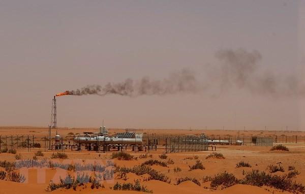 Một cơ sở sản xuất dầu của công ty Aramco ở Khouris, Saudi Arabia. (Nguồn: AFP/TTXVN)