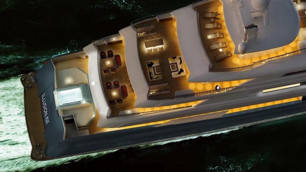 Siêu du thuyền lớn nhất châu Á giá 145 triệu USD của Trung Quốc - ảnh 2