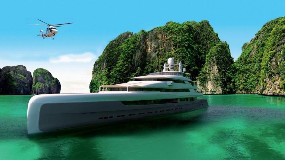 Siêu du thuyền lớn nhất châu Á giá 145 triệu USD của Trung Quốc - ảnh 3