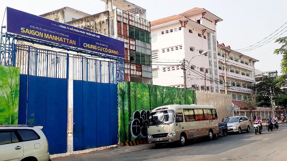 Dự án Pavilion Square đã được đổi tên thành Saigon Manhattan