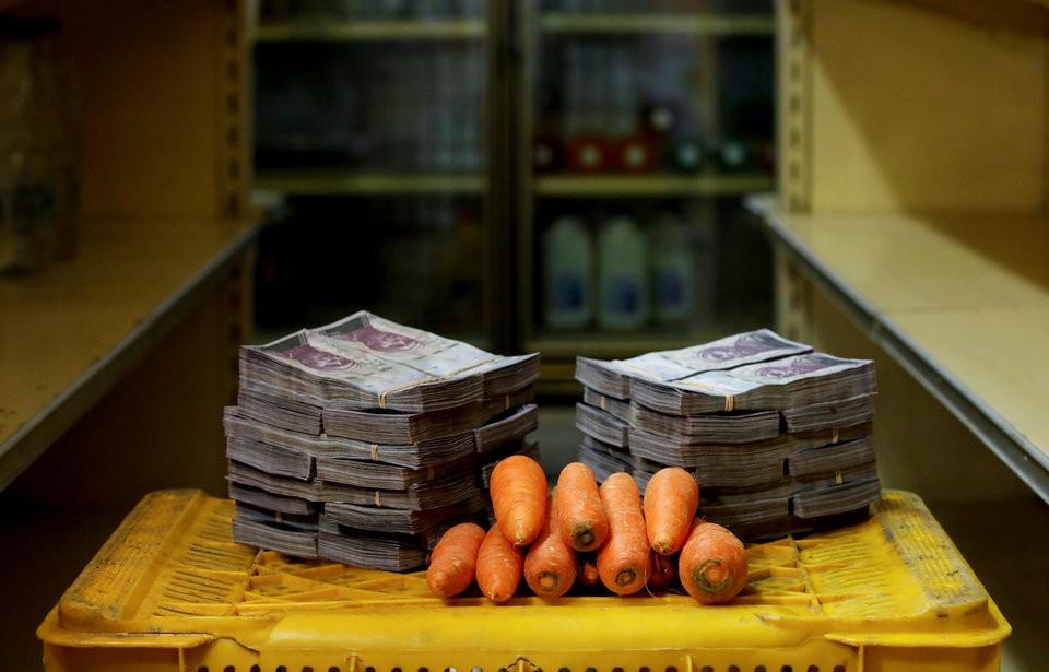 """Những bức ảnh cho thấy mức độ """"siêu lạm phát"""" tại Venezuela - ảnh 3"""