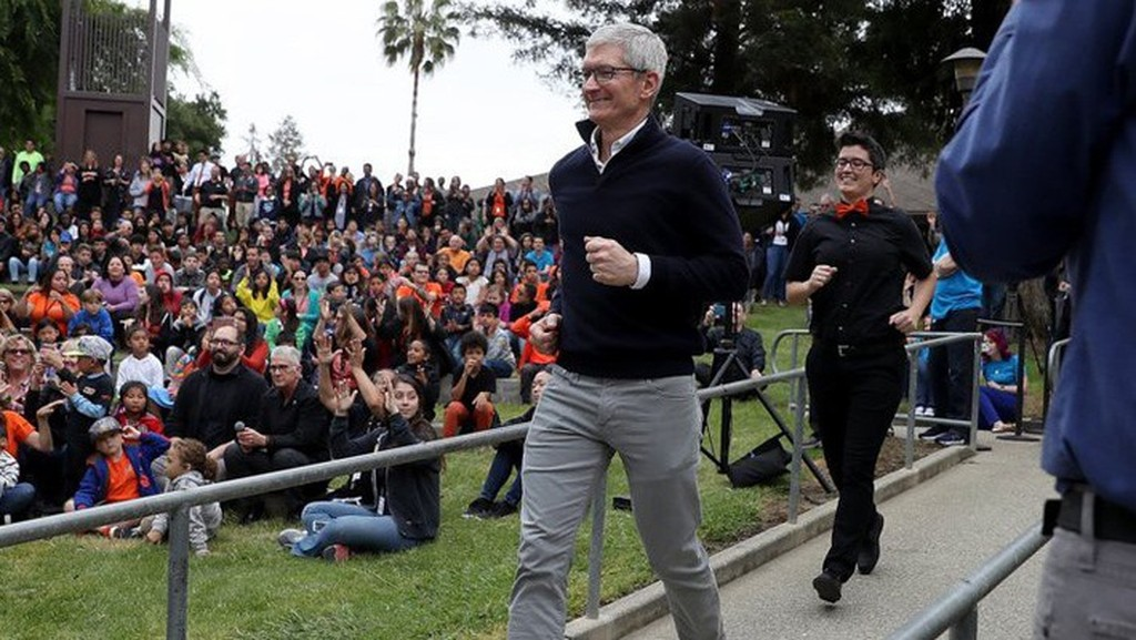 Tim Cook - CEO Apple - Ảnh: Getty Images.
