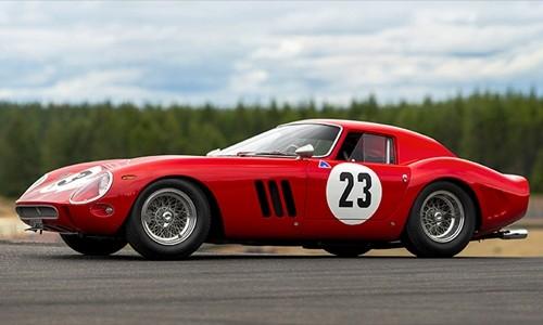 Chiếc Ferrari 250 GTO 1962 được đem đấu giácuối tuần trước. Ảnh:RM Sotheby's