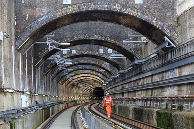 Một phần của dự án Crossrail. (Nguồn: Crossrail)