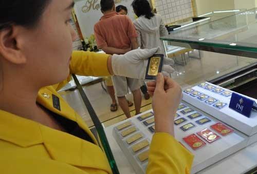 Giá vàng miếng trong nước đã giảm phiên thứ hai liên tiếp.