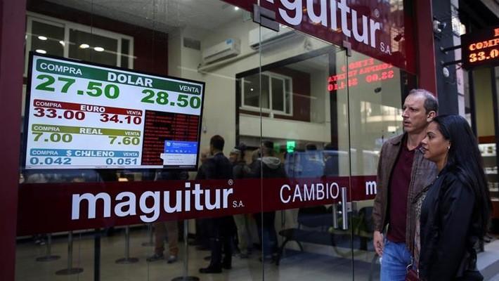 Cuộc khủng hoảng ở Argentina là một mối lo của giới đầu tư toàn cầu gần đây - Ảnh: Reuters.