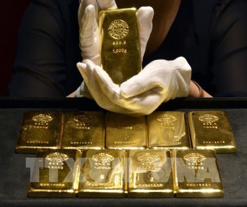 Giá vàng châu Á giảm 0,1%. Ảnh minh họa: AFP/TTXVN