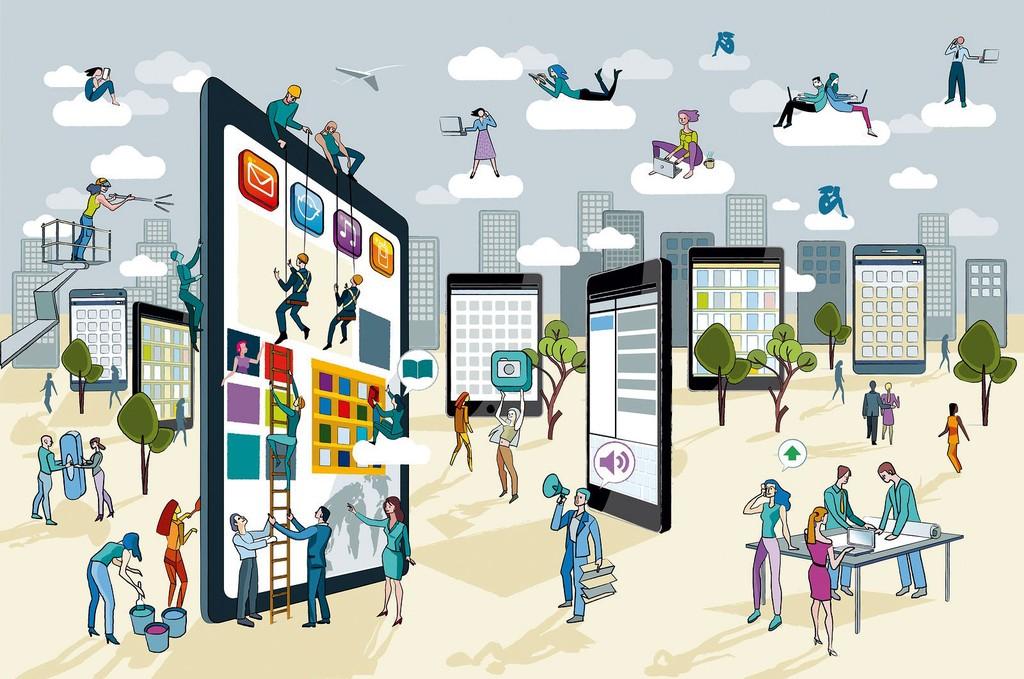 Thúc đẩy DN kinh doanh trực tuyến là một trong những bước đầu tiên phát triển kinh tế số. Ảnh minh họa