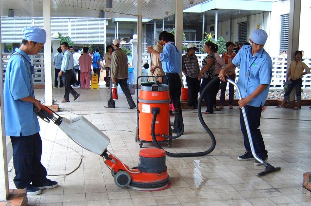 Nhà thầu trúng Gói thầu Cung ứng dịch vụ vệ sinh công nghiệp năm 2017 tại Bệnh viện Đa khoa tỉnh Hậu Giang bị tố cố tình cung cấp tài liệu không trung thực. Ảnh: Phước Đạt
