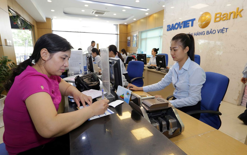 Phương án tăng vốn điều lệ từ 3.000 tỷ đồng lên 5.200 tỷ đồng của BaoViet Bank vẫn nằm trên giấy. Ảnh: Nhã Chi