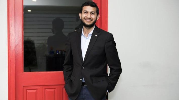 Ritesh Agarwal, 24 tuổi, người sáng lập Oyo Hotel - Ảnh: Bloomberg.