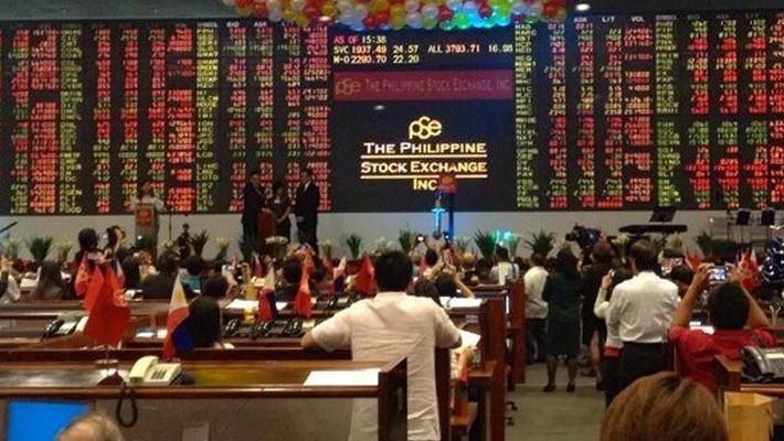 Chứng khoán Philippines đang chịu nhiều áp lực giảm điểm.