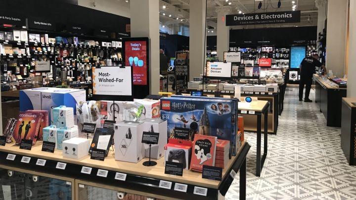 Amazon mở cửa hàng bán lẻ truyền thống tại New York - ảnh 2