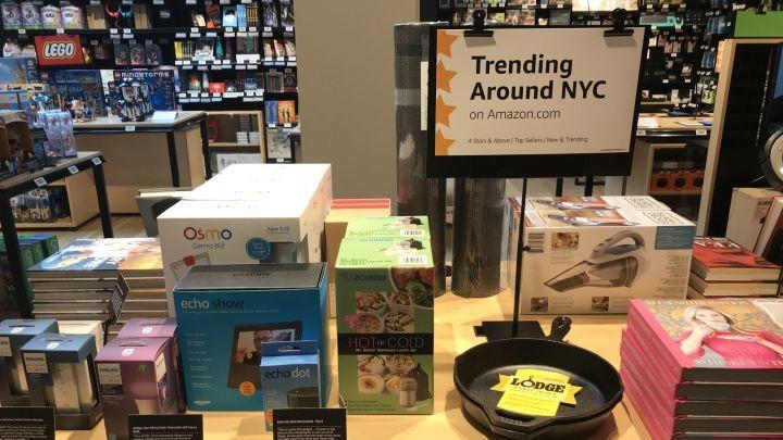 Amazon mở cửa hàng bán lẻ truyền thống tại New York - ảnh 4
