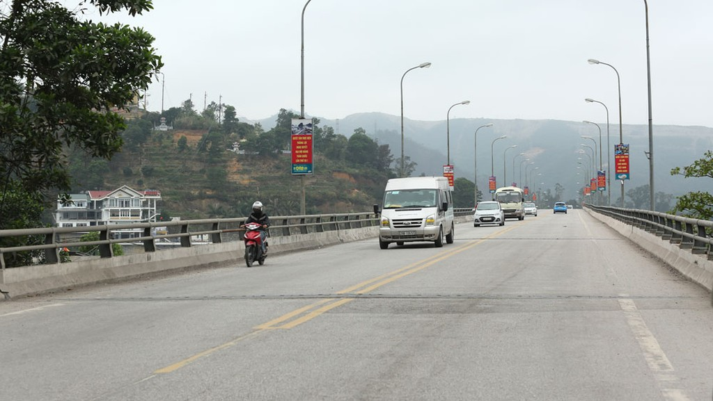 Dự án Đường cao tốc Vân Đồn - Móng Cái thực hiện theo hình thức PPP, hợp đồng BOT. Ảnh: Tiên Giang