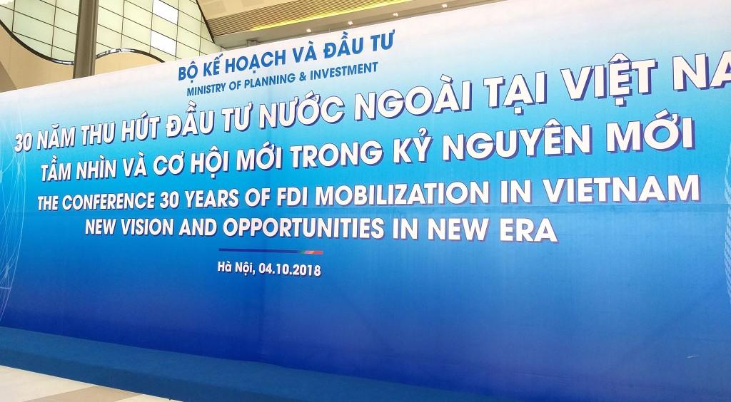 Khai mạc Hội nghị tổng kết 30 năm thu hút FDI - ảnh 1