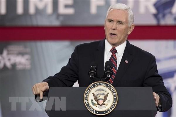 Phó Tổng thống Mỹ Mike Pence. (Nguồn: AFP/TTXVN)