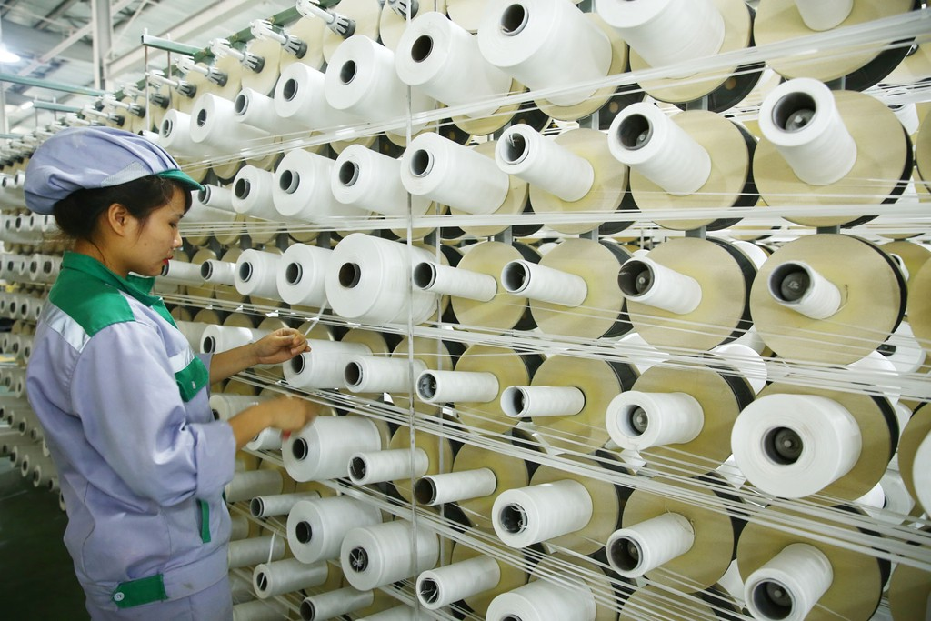 Trên phạm vi cả nước hiện có gần 600.000 doanh nghiệp đang hoạt động. Ảnh: Lê Tiên