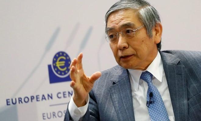 Thống đốc Ngân hàng trung ương Nhật Bản (BOJ) Haruhiko Kuroda. (Nguồn: Asia Times)