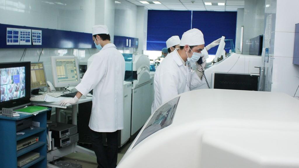 Công ty CP Liên hiệp đầu tư xây dựng nông thôn Việt Nam trúng 14 gói thầu trị giá hơn 1.221 tỷ đồng tại Trung tâm Mua sắm tài sản công và thông tin, tư vấn tài chính thuộc Sở Tài chính Hà Nội. Ảnh: Lê Tiên