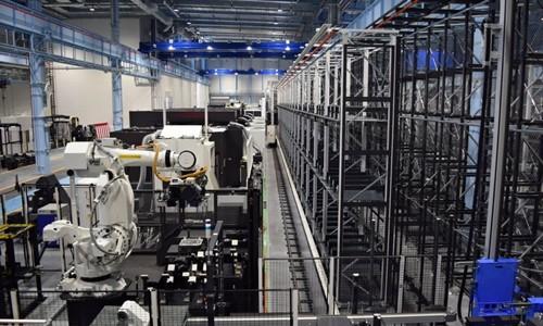 Nhà máy chính của Okuma tại tỉnh Aichi. Ảnh:Nikkei