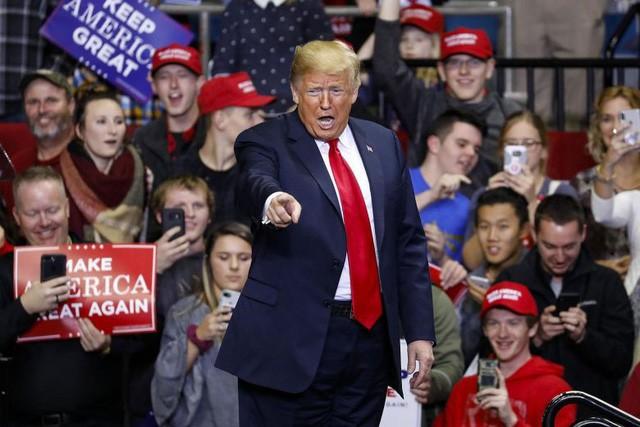 Tổng thống Trump (Ảnh: AFP)