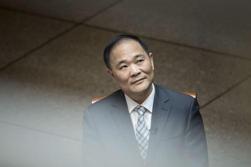 Li Shufu - ông chủ công ty Zhejiang Geely. Ảnh:Bloomberg