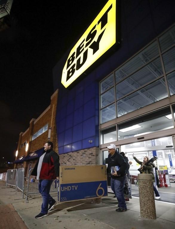 Lễ hội mua sắm Black Friday tại Mỹ bắt đầu - ảnh 16