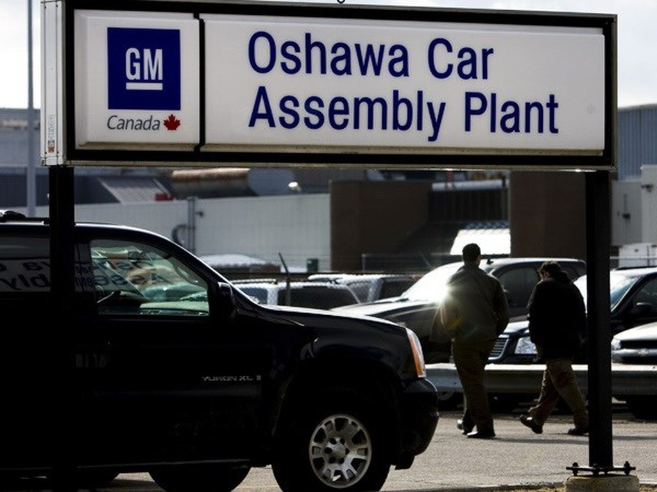 Nhà máy của GM tại Oshawa, Ontario (Canada). (Nguồn: gmauthority.com)