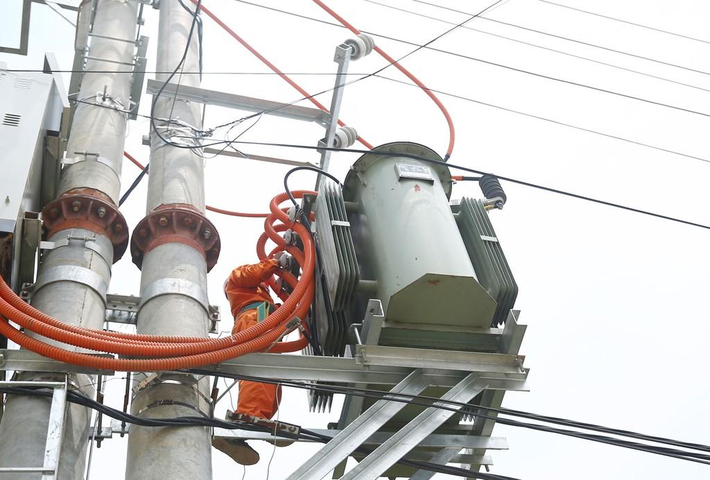Gói thầu Hệ thống cấp điện do Công ty CP SUDICO Hòa Bình làm bên mời thầu. Ảnh: Hoài Tâm