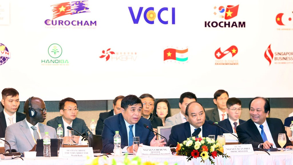 Chính phủ Việt Nam mong muốn các DN FDI tạo cơ hội nhiều hơn và hỗ trợ DN Việt Nam tham gia sâu hơn vào chuỗi giá trị. Ảnh: Lê Tiên