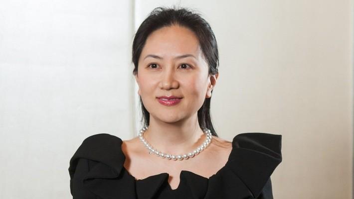 Bà Wanzhou Meng, Giám đốc tài chính (CFO) kiêm Phó chủ tịch Huawei.