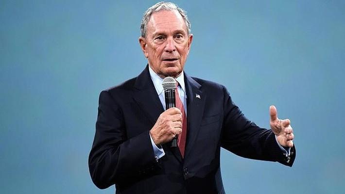 Tỷ phú Michael Bloomberg.