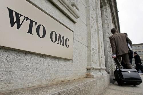 Trụ sở WTO. Ảnh: reuters