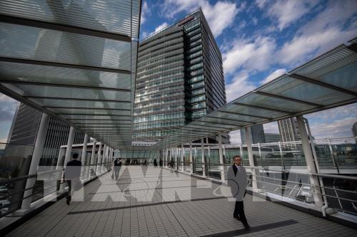 Trụ sở tập đoàn Nissan tại Yokohama, Nhật Bản. Ảnh: AFP/TTXVN